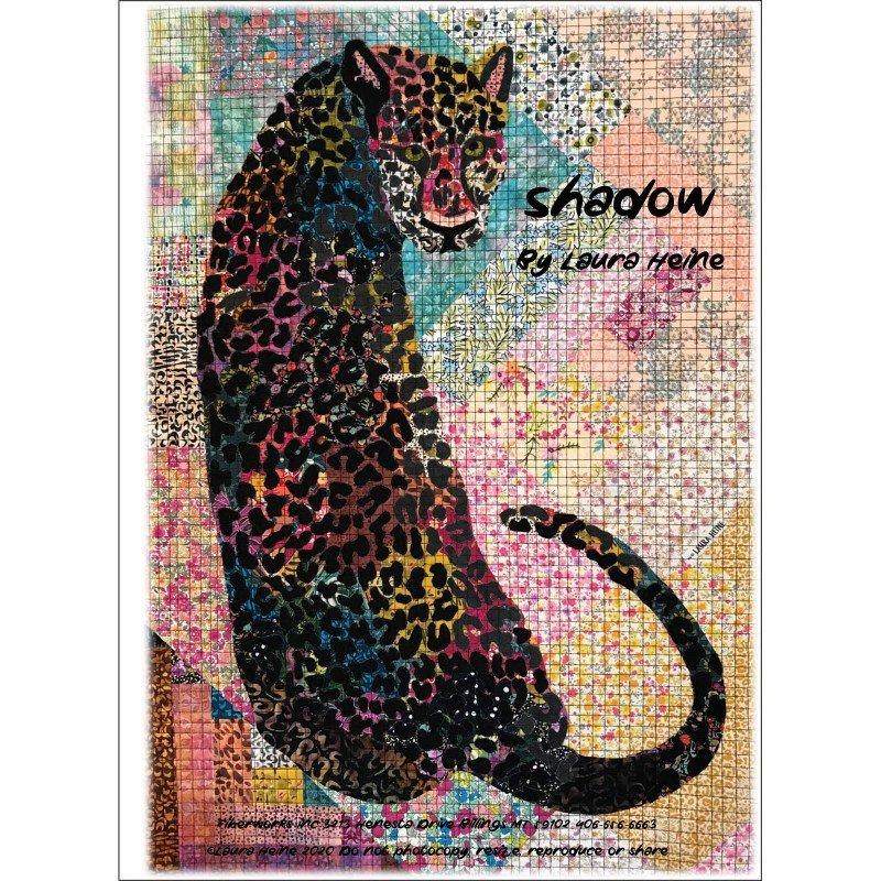 Pattern. NEW! Shadow Collage Quilt by Laura Heine