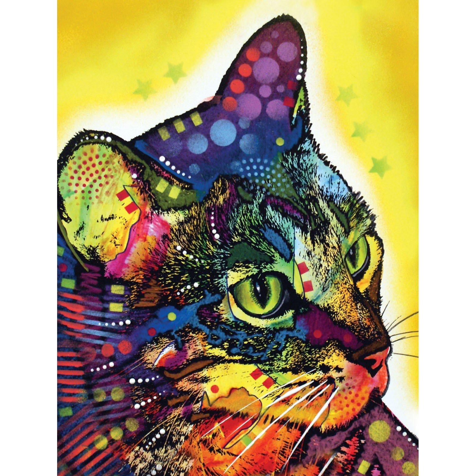 Book. Hardcover Journal Cat Profile