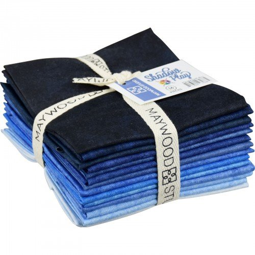 Maywood Bundle Blues (14) Fat Quarters