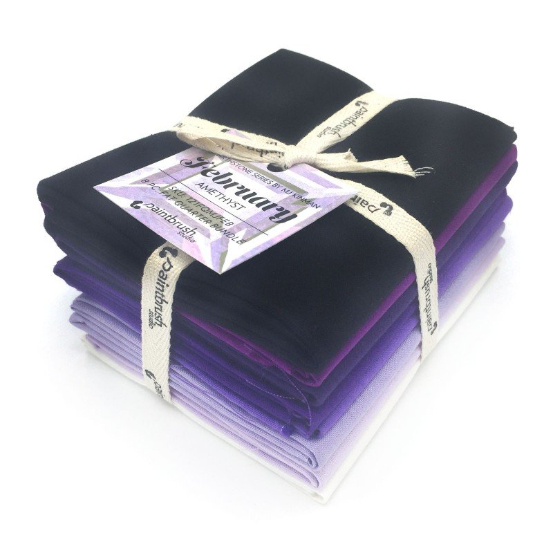 MJ Kinman FEBRUARY Birthstone Fat Quarter Bundles