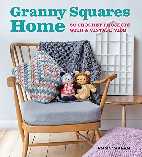 Book. Granny Squares Home by Emma Varnham