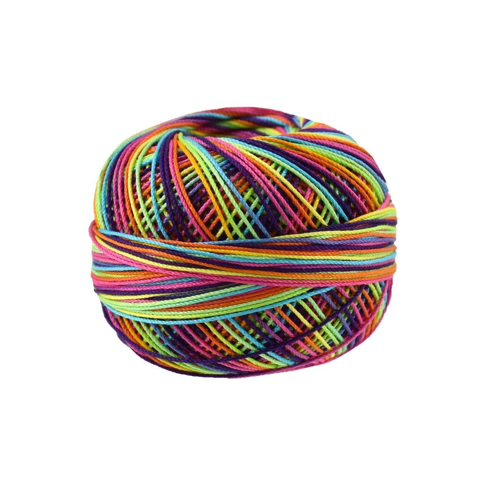Lizbeth #10 Thread for Needle Arts Rainbow Splash