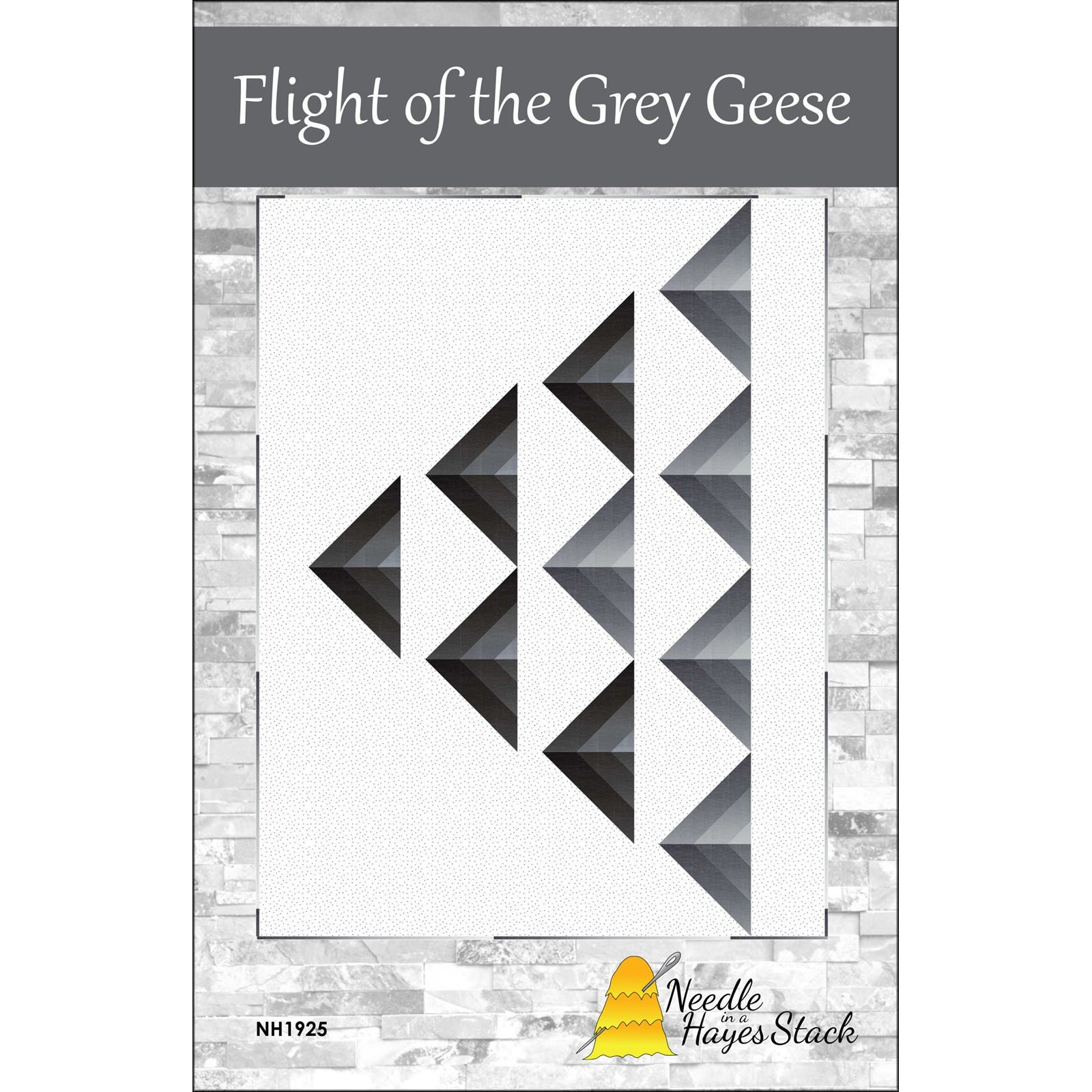 Pattern/KIT. Flight of the Grey Geese by Tiffany Hayes