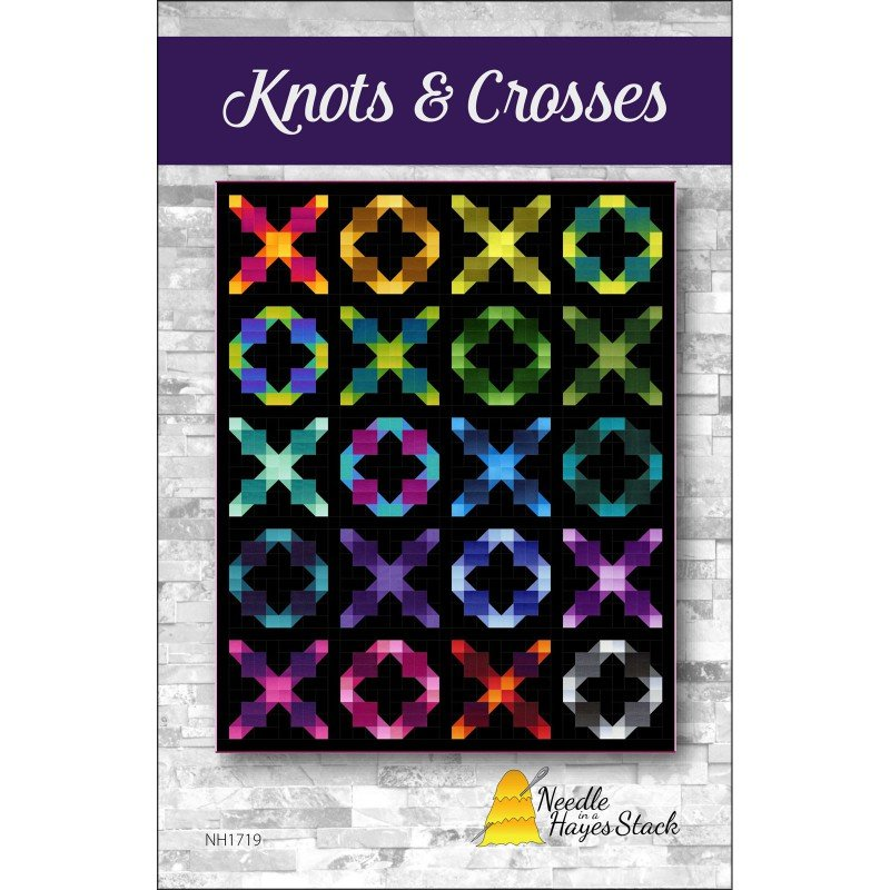 Pattern. Knots & Crosses by Tiffany Hayes