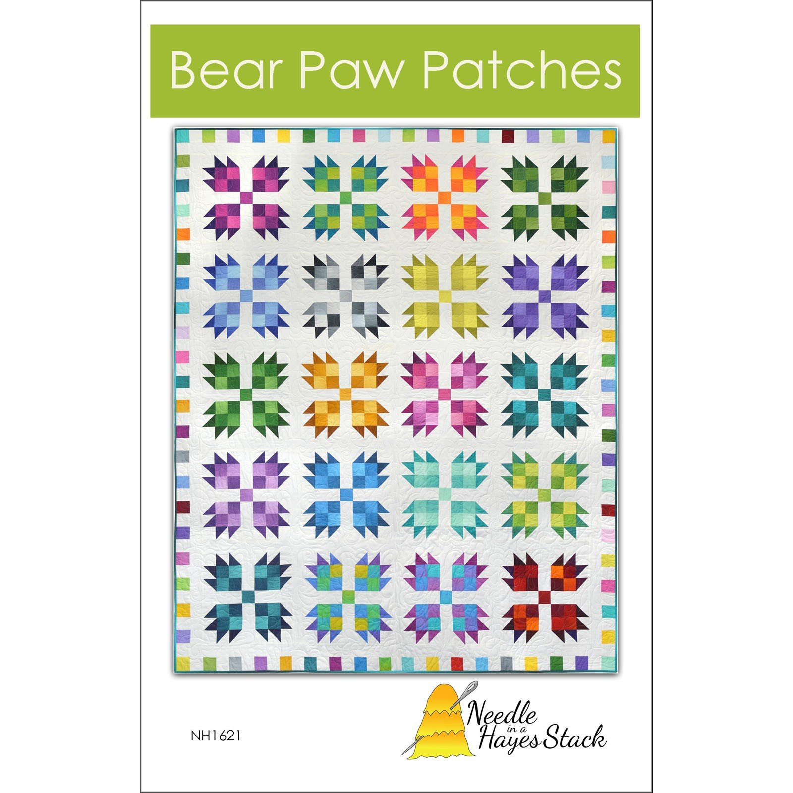 Pattern. Bear Paw Patches by Tiffany Hayes Needle in a Hayes Stack