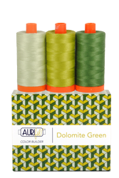 Aurifil DOLOMITE GREEN 50 wt Cotton Thread (3)
