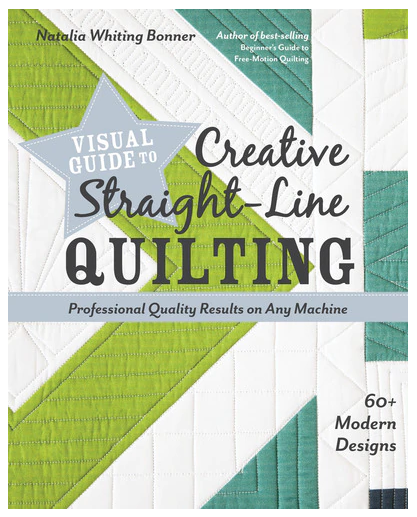 Book. Creative Straight Line Quilting CT Publ