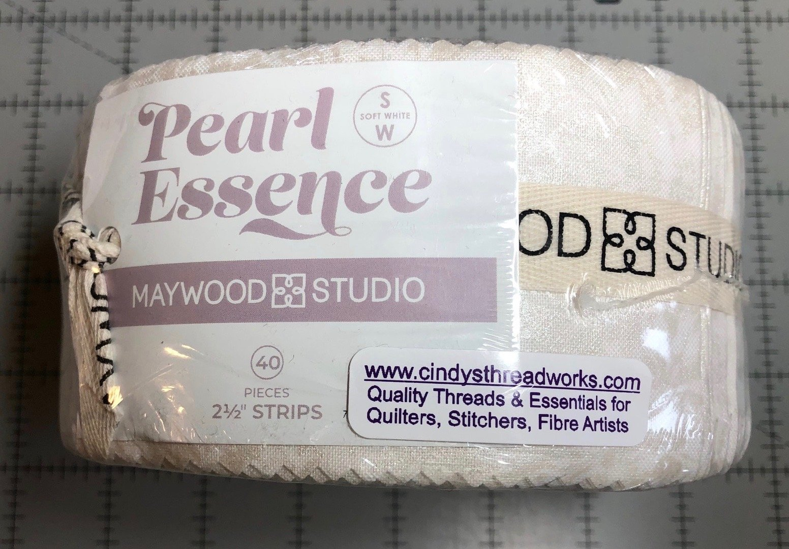 Maywood Pearl Essence Pre-Cut strips (40) Jelly Roll