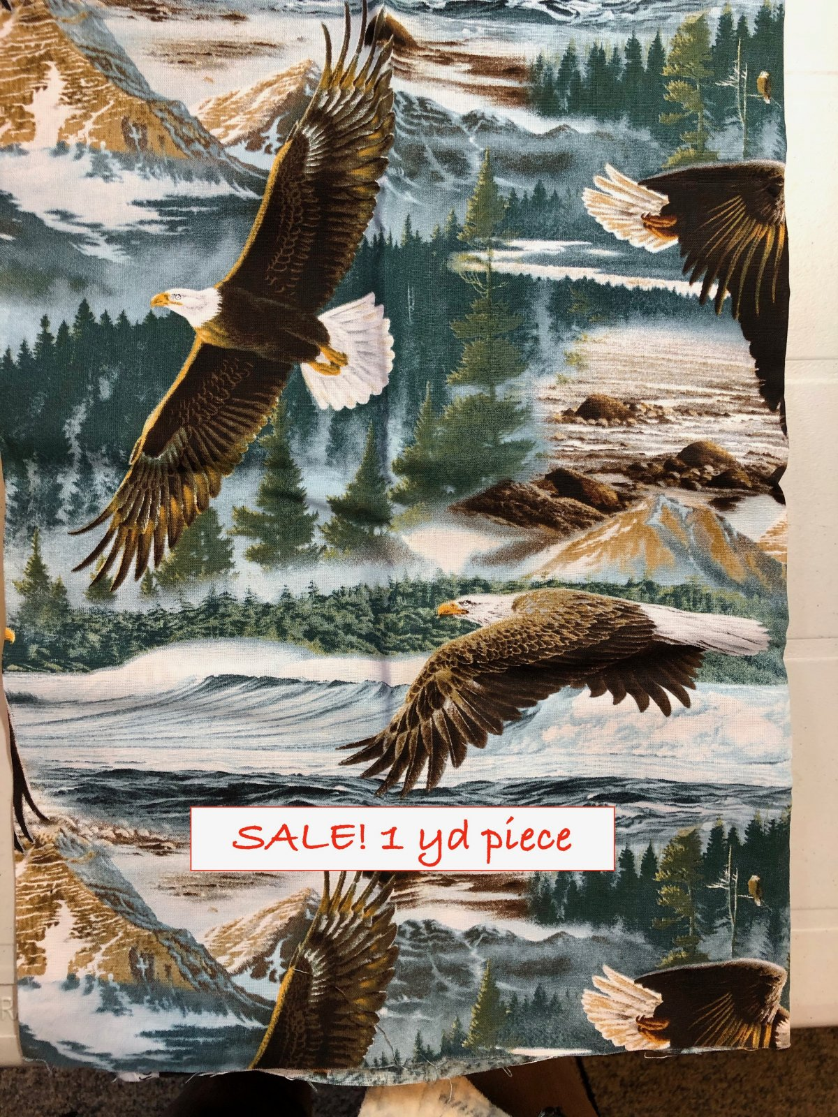 Eagle Panel 1 yd. Clearance!