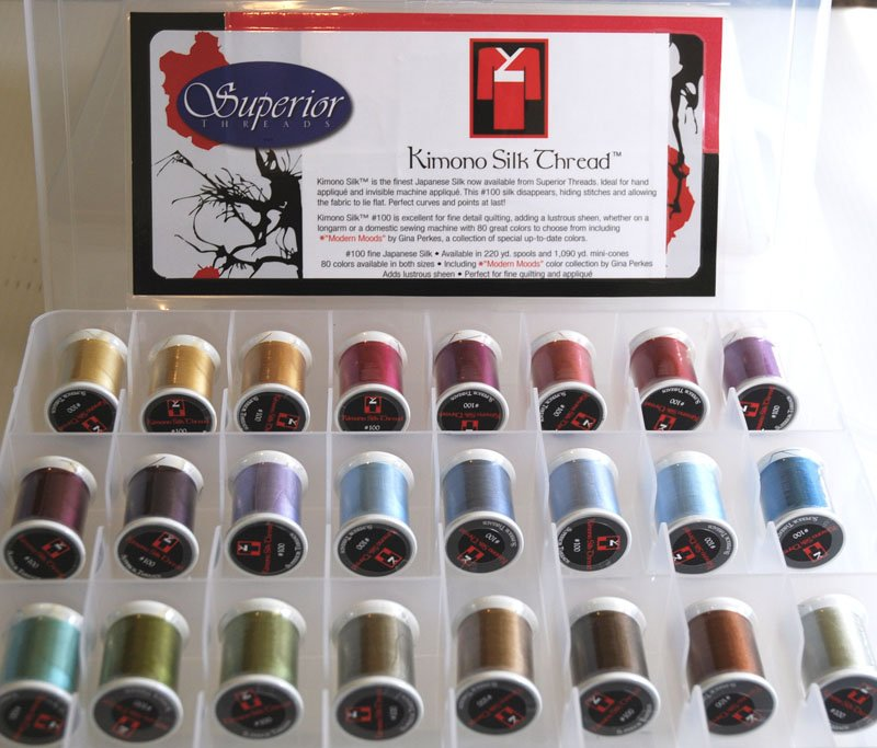 KIMONO Silk 220 yds. Set of 24 colors.