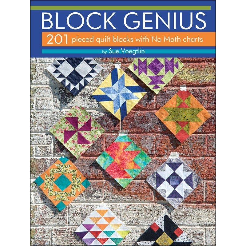 Book. Block Genius by Sue Voegtlin Landauer Publ