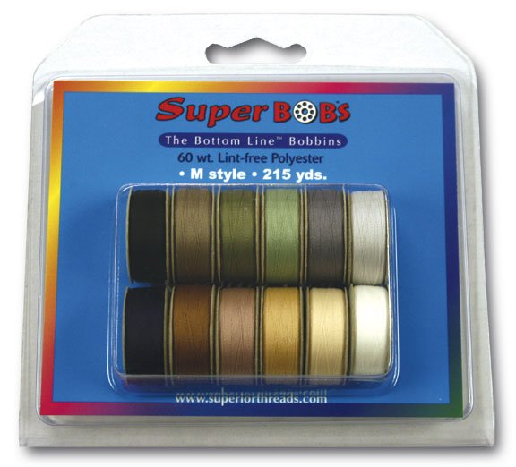 SuperBOBs M Style  Assortment Set #2 NEUTRAL doz