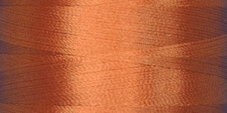 Magnifico #2035 RUST BROWN 500 yds. Trilobal Poly