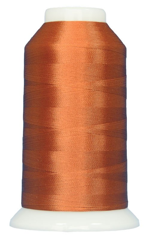 Magnifico #2035 RUST BROWN 3000 yds. Trilobal Poly