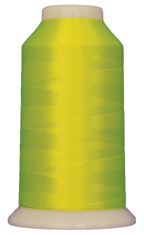 Magnifico #2096 ZESTY LIME 3000 yds. Trilobal Poly