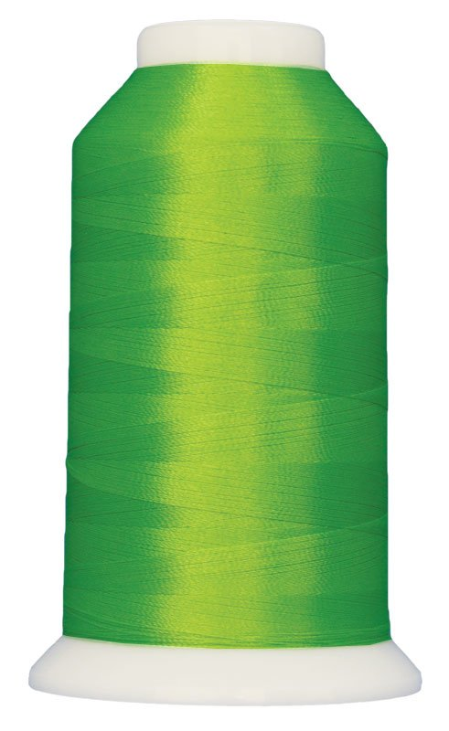 Magnifico #2102 LIME POPSCICLE 3000 yds. Trilobal Poly