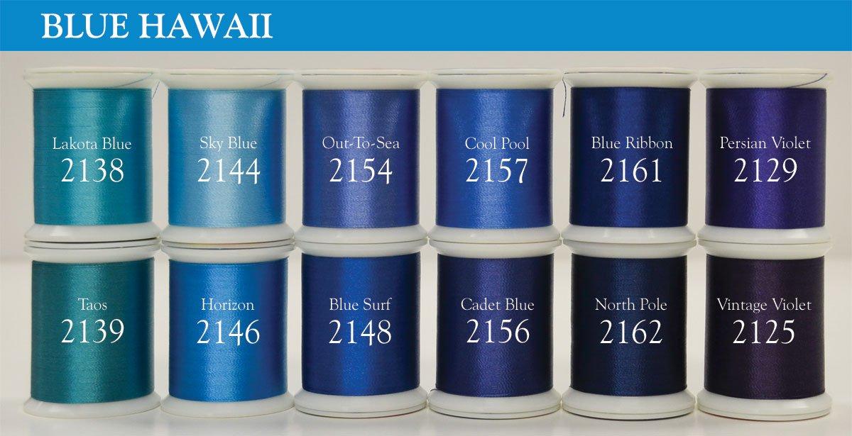 Magnifico BLUE HAWAII 12 set