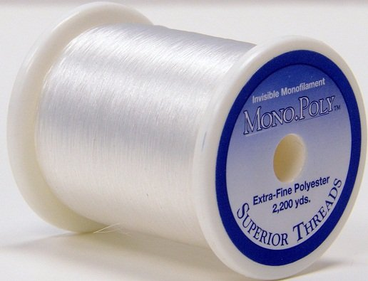 MonoPoly Reduced-Sheen CLEAR 2200 yds.