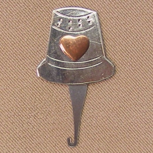 Little Thimble Long Eye Needle Threader