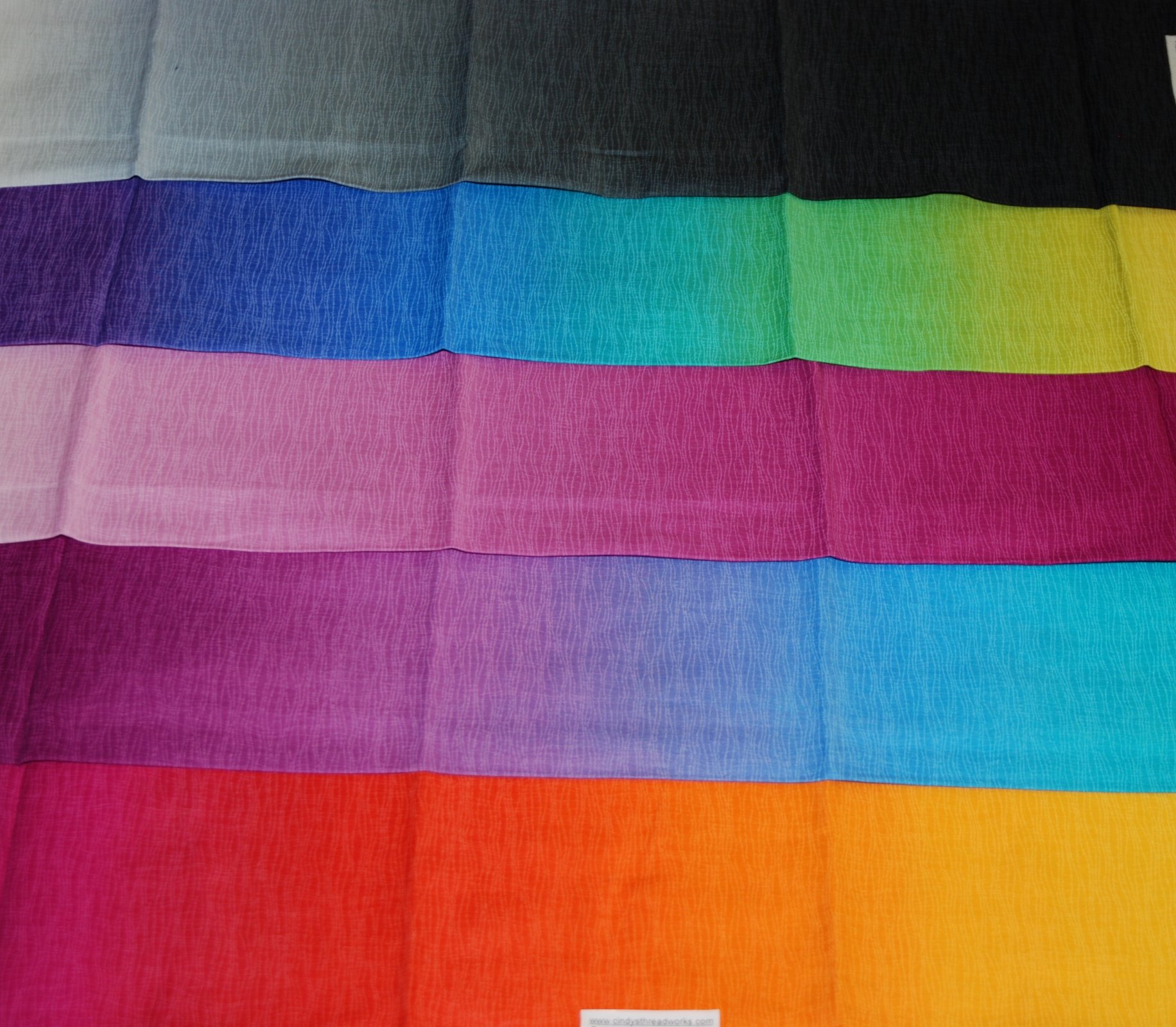 Gelato OMBRE Fabric by yd. (28) combinations!