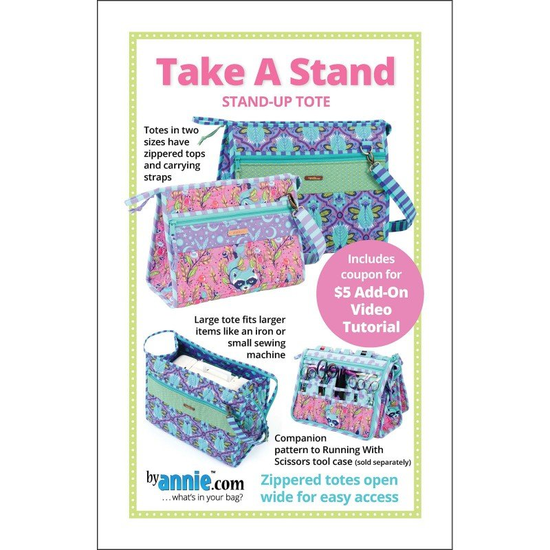 Pattern. Take a Stand Bag by Annie