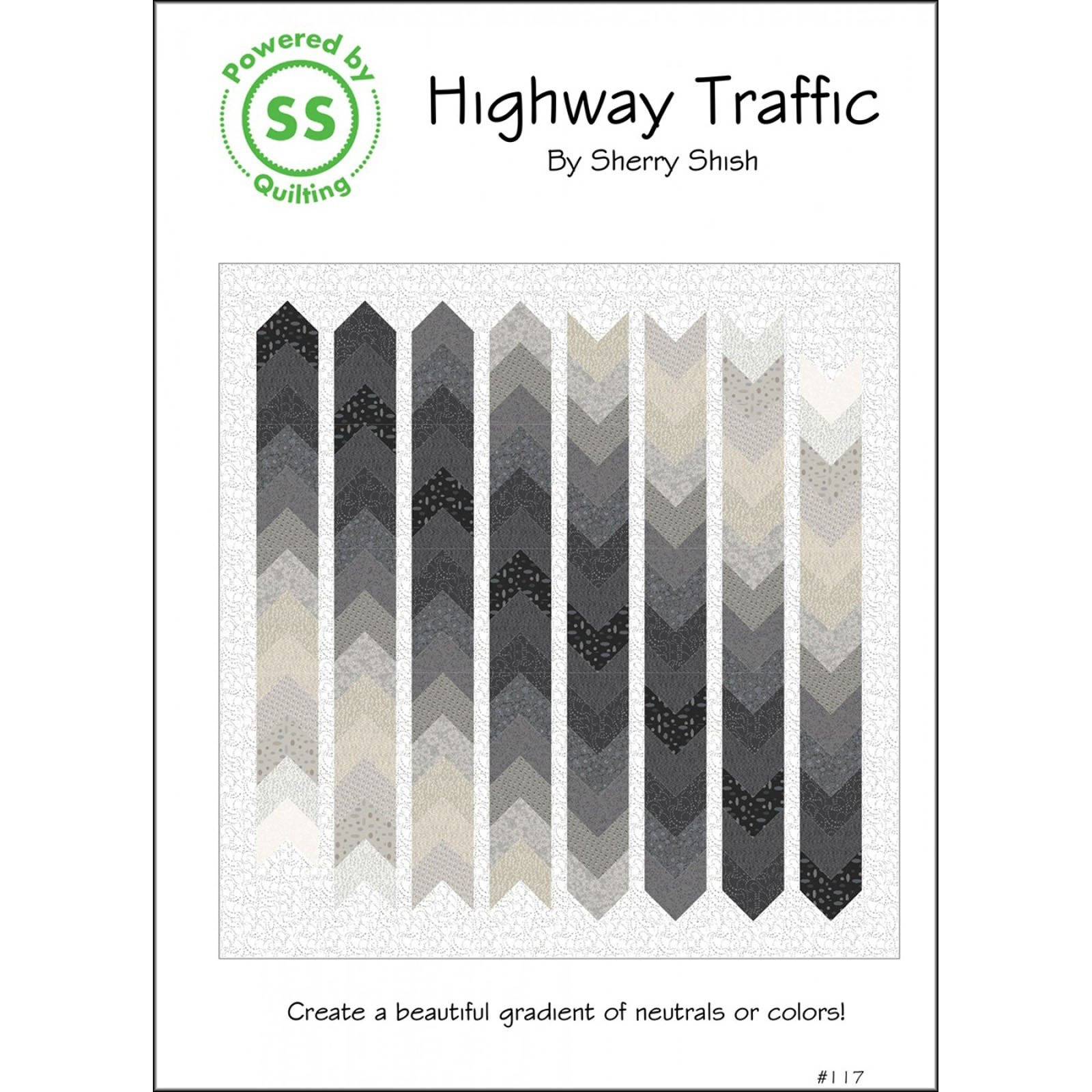 Pattern. Highway Traffic by Sherry Shish
