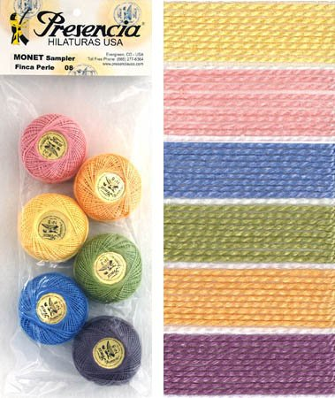 Presencia Perle #8 Cotton MONET Sampler