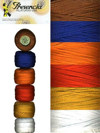 Presencia Perle #8 Cotton IMARI Sampler