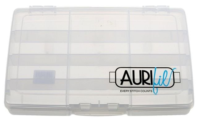 Aurifil Thread Storage Case holds 12