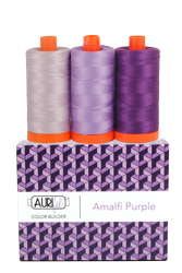 Aurifil 50 wt AMALFI PURPLE Cotton Thread (3)