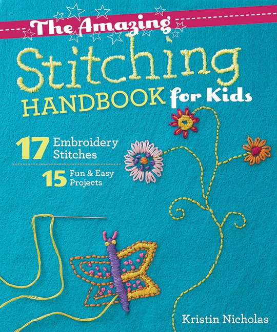 Book. Amazing Handbook of Stitches for Kids!