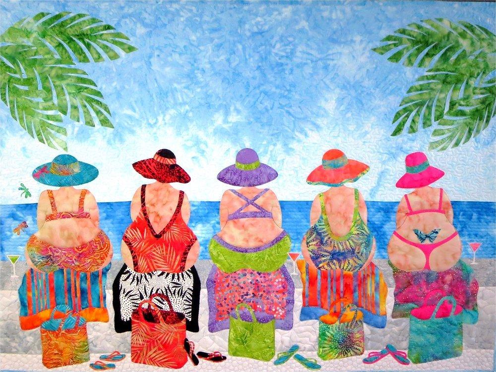 Pattern. Beach Bums JoAnn Hoffman