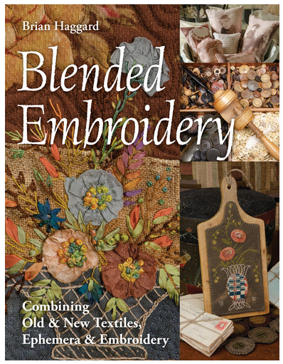 Book. Blended Embroidery by Brian Haggard CT Publ (Clearance!)