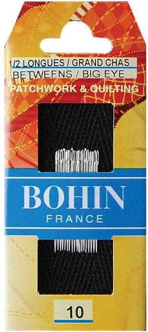 Bohin Quilting BIG EYE Needles 10