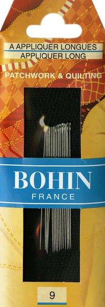 Bohin Applique Long & Beading Needles 10
