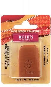 Bohin Leather Thimble (Medium)