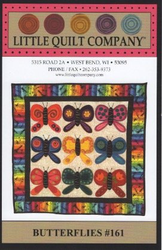 Pattern. Little Quilt Company Butterflies #161 (Clearance)