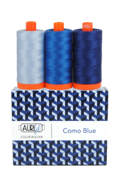Aurifil 50 wt COMO BLUE Cotton Thread (3)