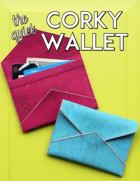 Pattern. Corky Wallet KIT by Sassafras Lane Designs