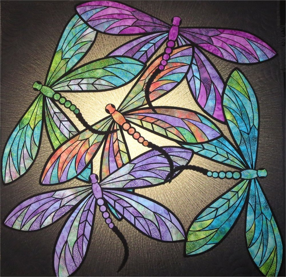 Pattern. Dance of the Dragonflys JoAnn Hoffman