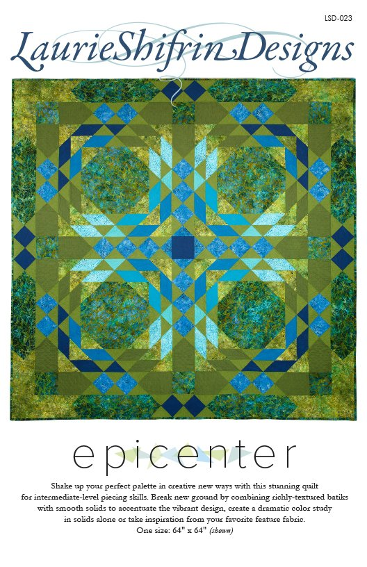 Pattern. Epicenter by Laurie Shifrin Designs