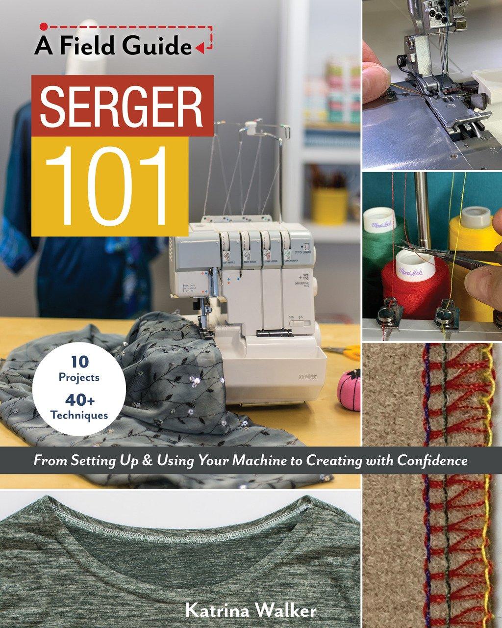 Book. Serger Field Guild by Katrina Walker