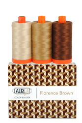 Aurifil FLORENCE BROWN 50 wt Cotton Thread (3)