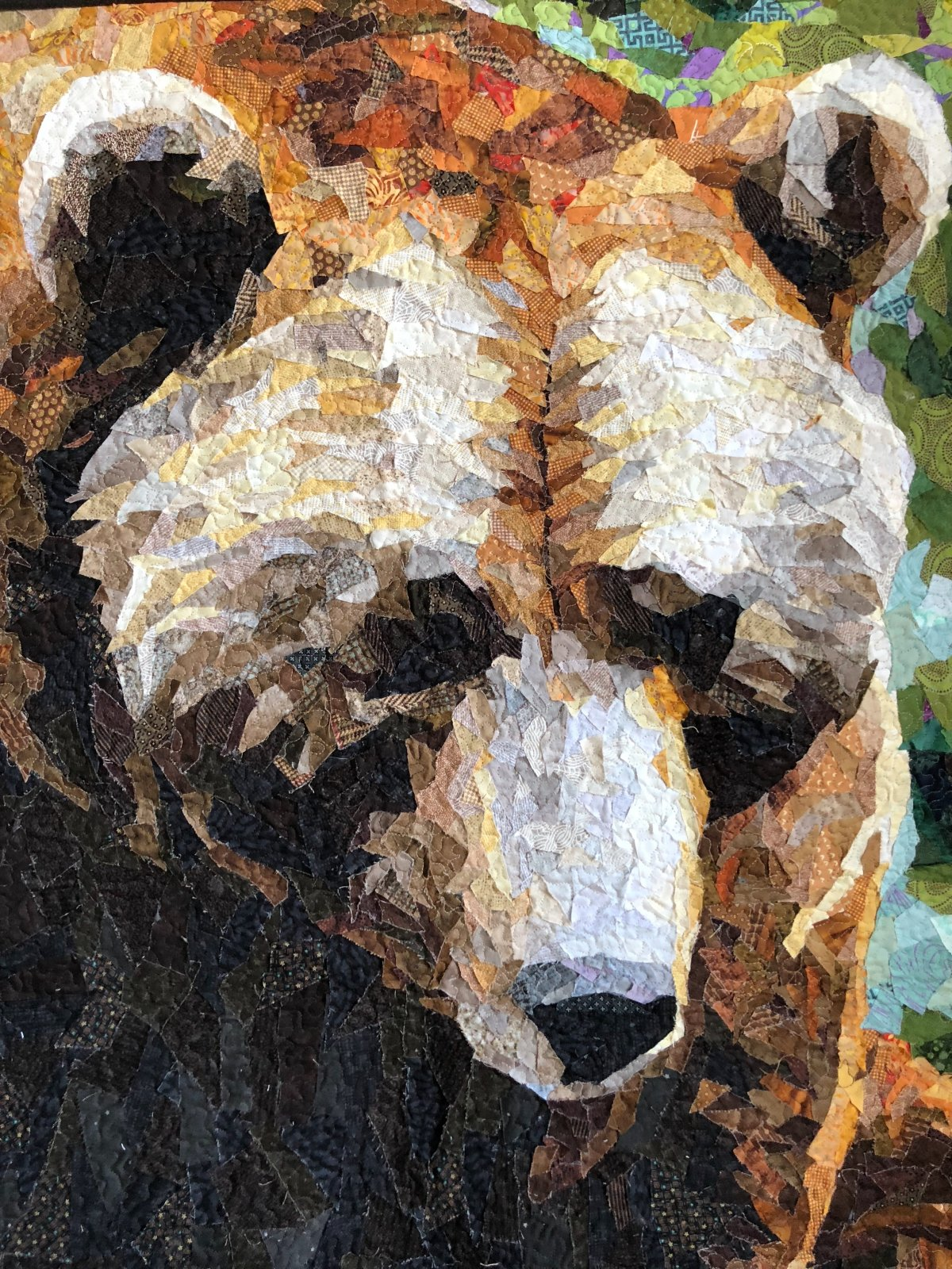 Pattern. GRIZZLY Collage by Emily Taylor
