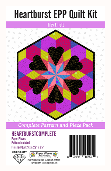 Pattern. Heart Burst EPP by Libs Elliott