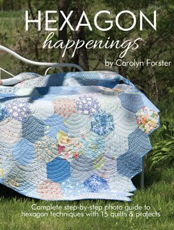 Book. Hexagon Happenings by Carolyn Forster Landauer Publ