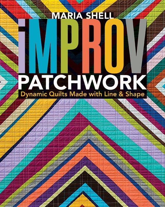 Book. Improv Patchwork by Maria Shell Stash Books