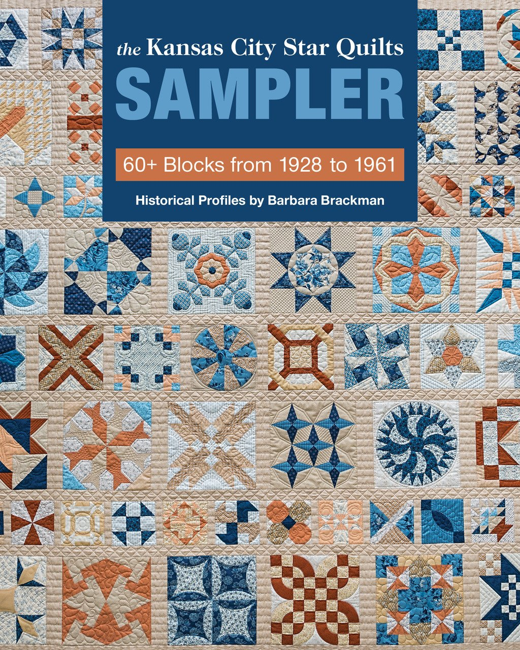 Book. Kansas City Star Quilt Sampler by Barbara Blackman