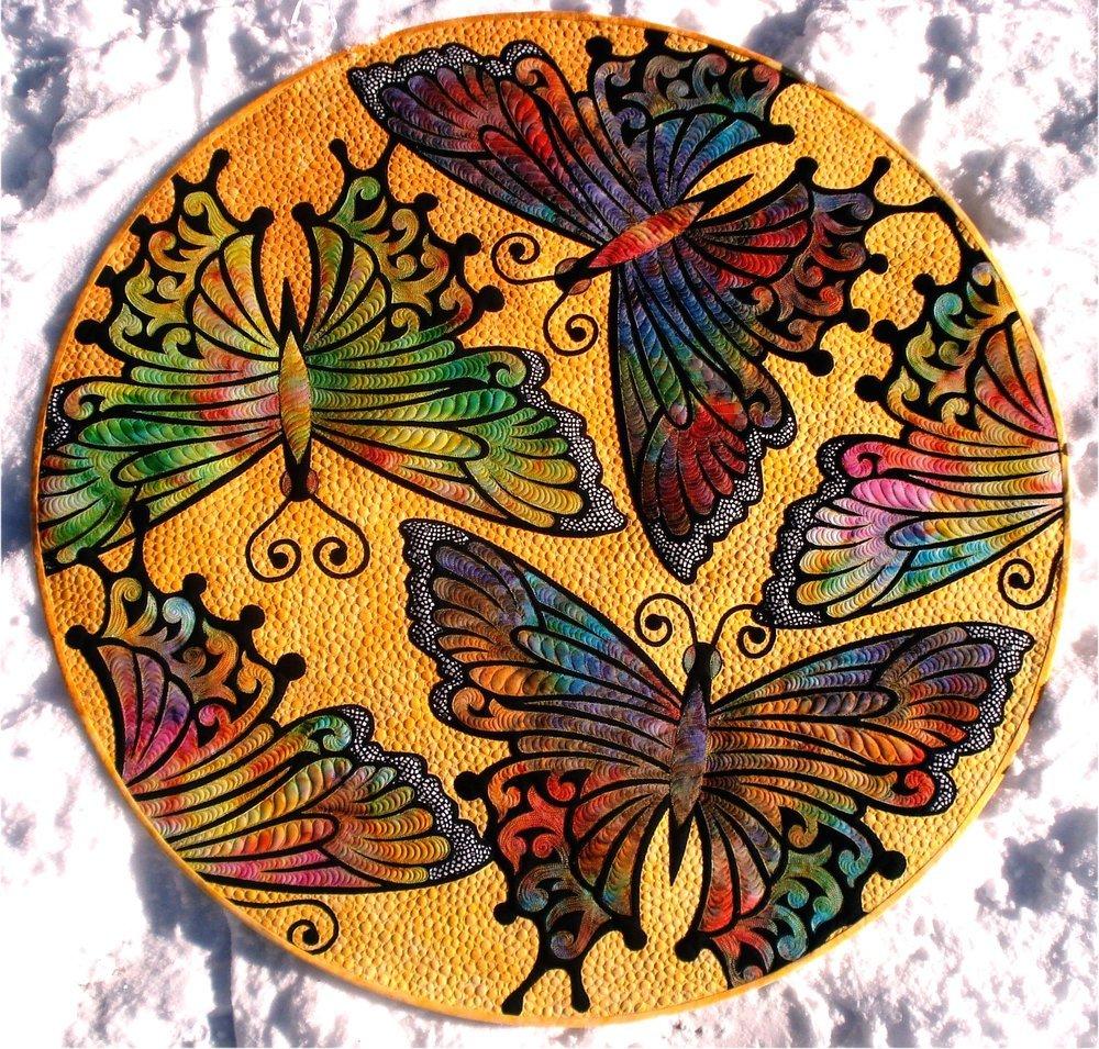Pattern. Kimimila Butterfly. JoAnn Hoffman