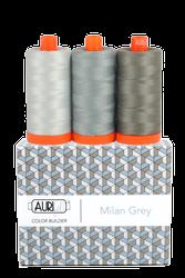 Aurifil 50 wt MILAN GREY Cotton Thread (3)